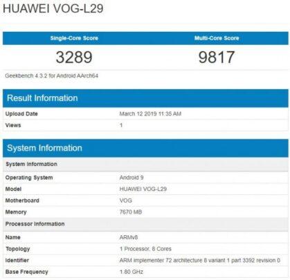 أول تسريب لمواصفات Huawei P30 3