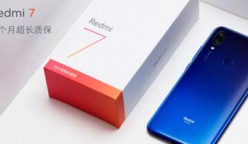 الإعلان رسمياً عن Redmi 7 بسعر منافس 6