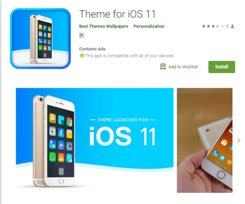 أفضل IOS launcher لجعل هاتفك الأندرويد بشكل الـ IOS 3