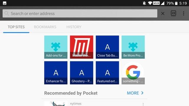 أفضل إضافات Firefox نسخة الأندرويد 5