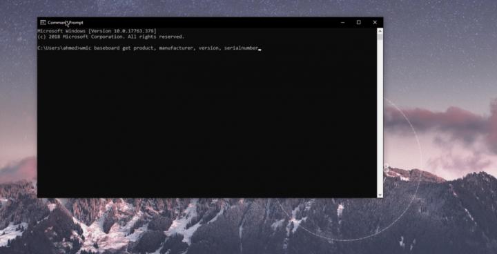 كيف تعرف موديل اللوحة الأم Motherboard الخاصة بجهازك من داخل الويندوز 3