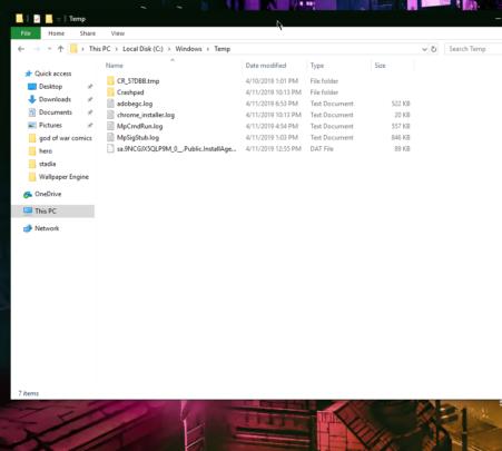 3 ملفات يمكنك أن تمسحها لـ توفير المساحة على ويندوز 4