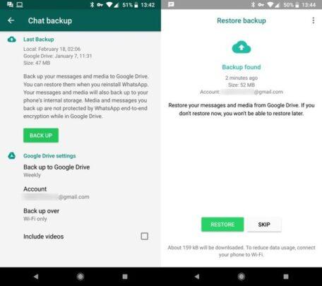 كيف تسترجع صور Whatsapp التي تم مسحها 3