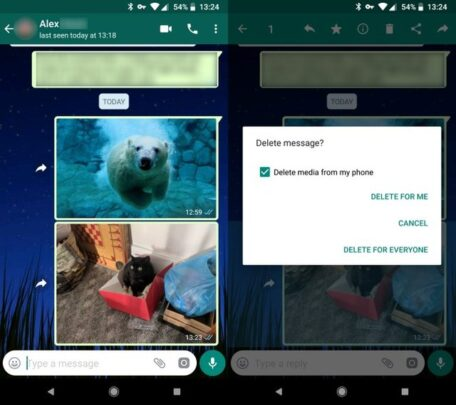 كيف تسترجع صور Whatsapp التي تم مسحها 2