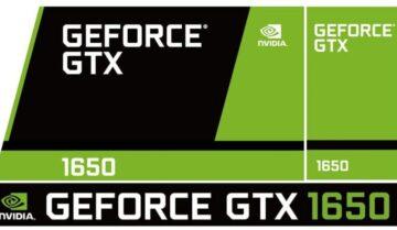 سعر بطاقة Geforce GTX 1650 مع موعد صدورها 5