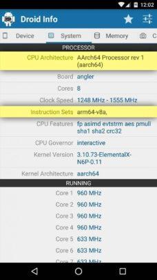 كيف تعرف نوع معالج الهاتف ( ARM . ARM64 أو x86) 3