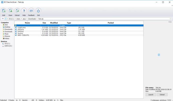 افضل بدائل تطبيق Winrar على جهازك بنظام Windows 3