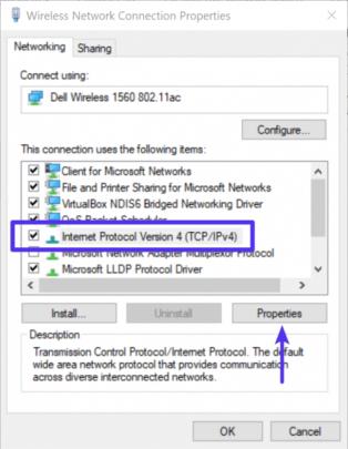 حل مشكلة dns_probe_finished_nxdomain في مختلف المتصفحات 13
