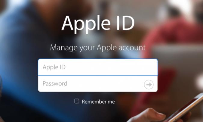 كيفية إعادة Apple ID بعد أن نسيت الرمز السري 1