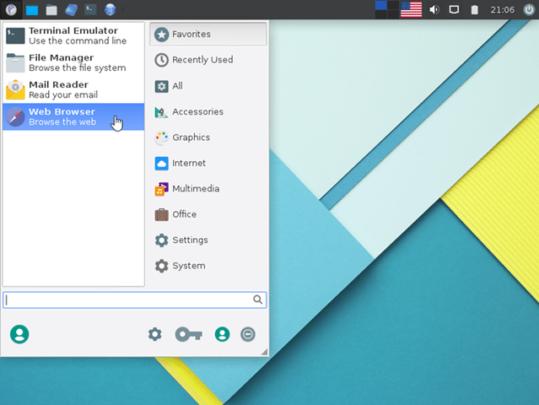 أقل توزيعات لينكس Linux في المساحة 4