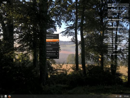 أقل توزيعات لينكس Linux في المساحة 2