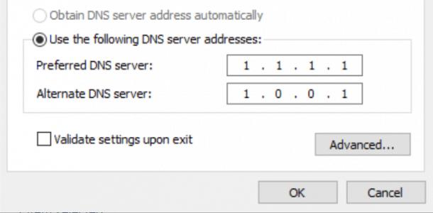 حل مشكلة dns_probe_finished_nxdomain في مختلف المتصفحات 14