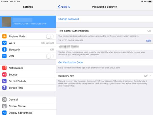 كيفية إعادة Apple ID بعد أن نسيت الرمز السري 2