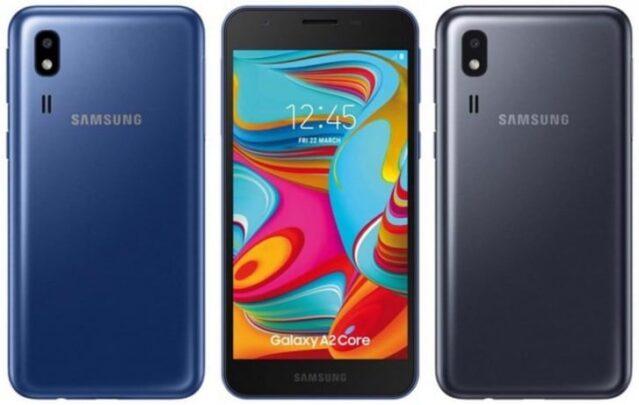 الإعلان عن هاتف Galaxy A2 Core المخفض والمصغر 1