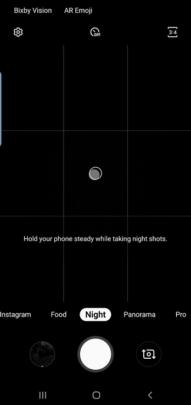 جلاكسي اس 10 يحصل على تحديث Night Mode 2