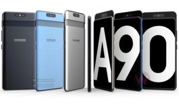 فيديو لـ Galaxy A90 يظهر الهاتف بكاميرا تدور 5