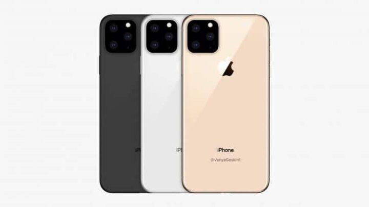 تسريب يظهر شكل كاميرات iPhone XI 1