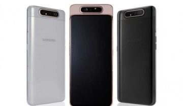 رسمياً Galaxy A80 من سامسونج بكاميرا متحركة 5