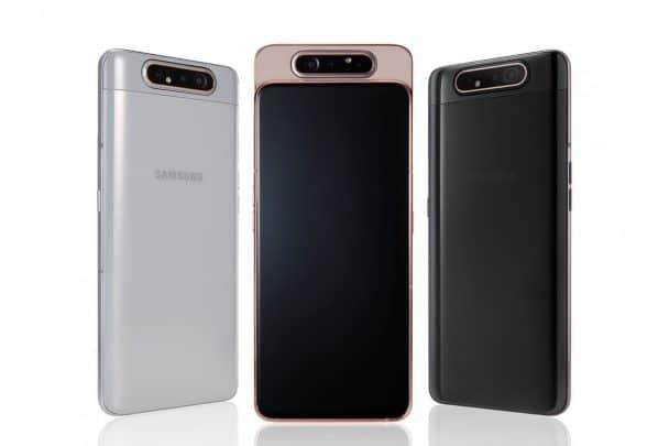 رسمياً Galaxy A80 من سامسونج بكاميرا متحركة 1