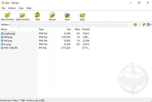 افضل بدائل تطبيق Winrar على جهازك بنظام Windows 5
