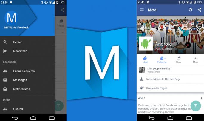 افضل بدائل تطبيق facebook على جهازك بنظام Android 7
