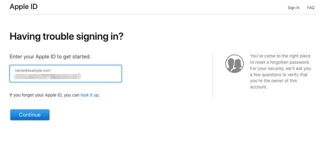 كيفية إعادة Apple ID بعد أن نسيت الرمز السري 8