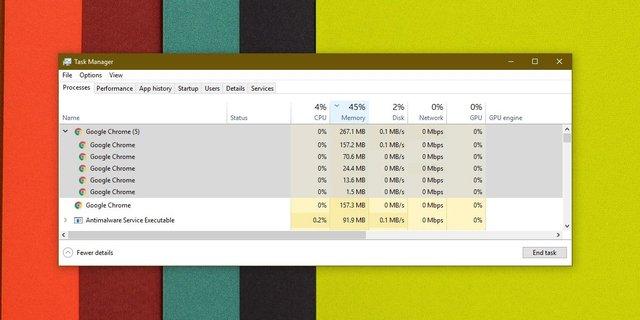 تقليل استهلاك جوجل كروم للرام الخاصة بجهازك وجعله أسرع 2