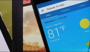 افضل تطبيقات الطقس لهواتف الـAndroid لعام 2019