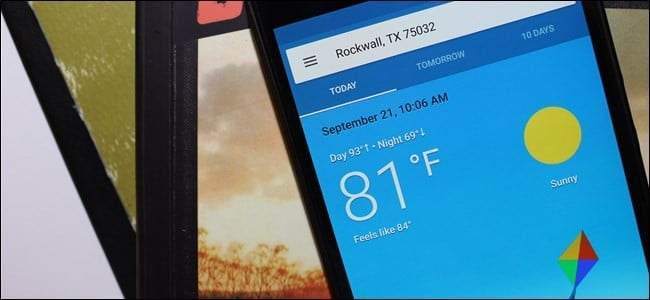 افضل تطبيقات الطقس لهواتف الـAndroid لعام 2019 1