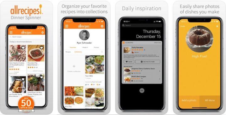 برامج تساعدك على تعلم الطبخ ووصفات الطعام الجديدة 4