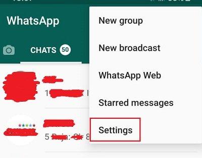 كيف تمنع إضافتك إلى جروبات Whatsapp من قبل اي شخص آخر 2