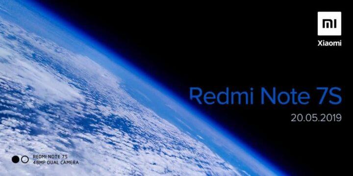 إطلاق Redmi Note 7s في الهند يوم 20 مايو 1