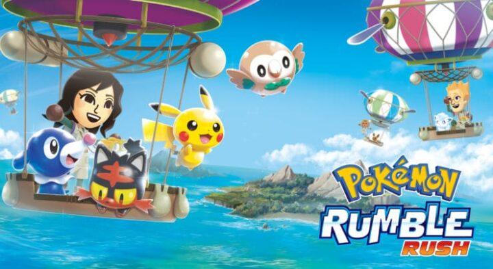الإعلان رسمياً عن لعبة Pokemon Rumble Rush للأندرويد 1