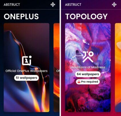 برنامج خلفيات جديد من مصمم خلفيات Oneplus 1