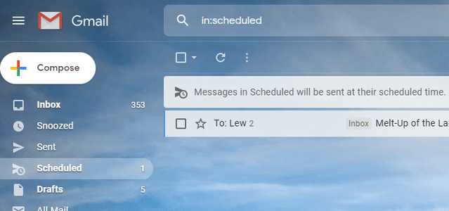 الرسائل الإلكترونية