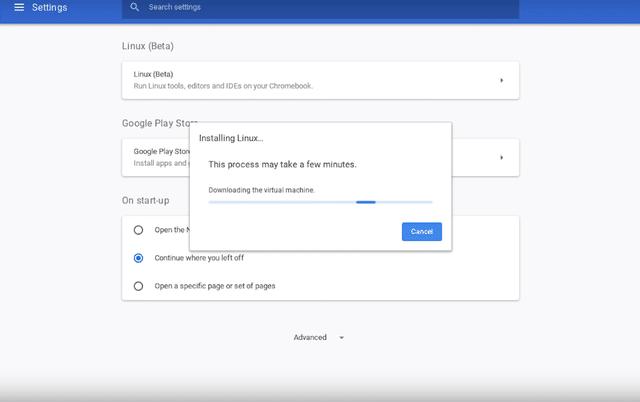 كيف تثبت تطبيقات لينكس على نظام Chrome OS 2