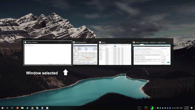 كيف تستخدم Task View في إغلاق البرامج على ويندوز 10 2