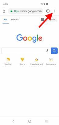 كيف تفعل Dark Mode في جوجل كروم على الأندرويد 3