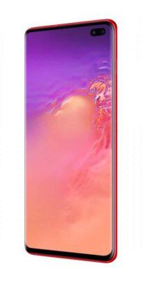هاتف Galaxy S10 يحصل على لون أحمر جديد 1