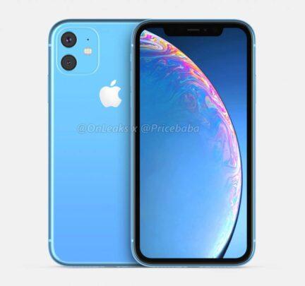 صور iPhone XR 2019 تظهر كاميرا خلفية ثنائية مربعة ! 1
