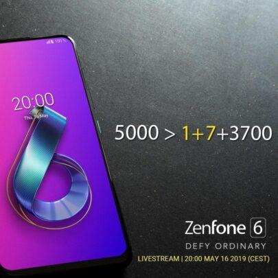أسوس تهاجم oneplus قبل الكشف عن Zenfone 6 1