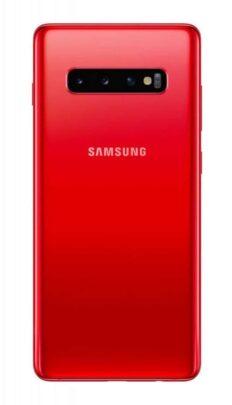 هاتف Galaxy S10 يحصل على لون أحمر جديد 2