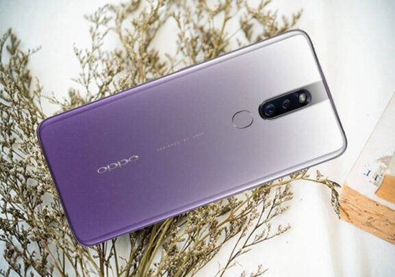 هاتف Oppo F11 Pro يحصل على لون جديد بإسم Waterfall Gray 1