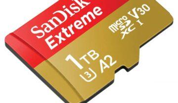 بطاقة SanDisk Extreme 1TB العملاقة أصبحت متاحة للشراء 6