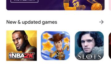 جوجل تغير شكل متجر Play Store
