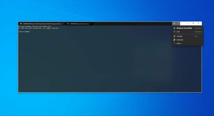 Windows Terminal اصبح متوفراً للتجريب على Microsoft Store 1