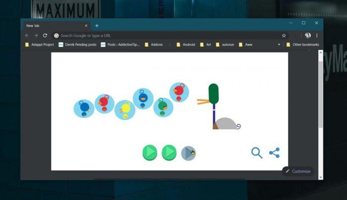 رسومات Google Doodles