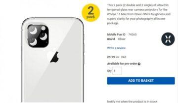 تأكيد شكل iPhone 11 الجديد من آبل في النسخ الثلاثة