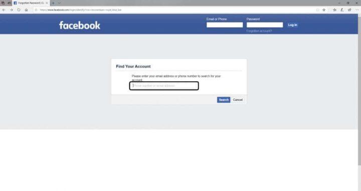 طرق استرجاع واسترداد حساب الفيسبوك 2020 3