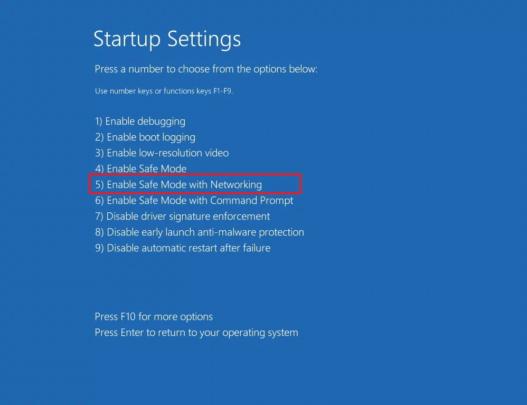نظام ويندوز 10 يعاني من مشكلة شاشة سوداء لدى بعض المستخدمين اليك الحل 8